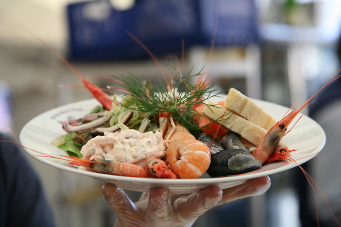 Smaka på Stockholm, ein kulinarisches Festival Anfang Juni im Kungsträdgården