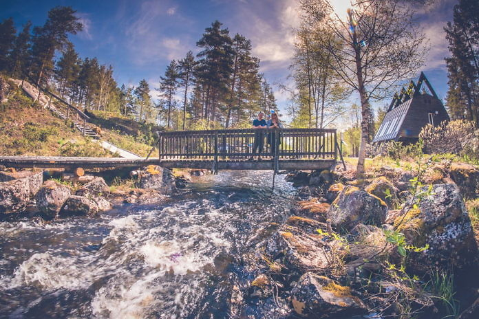 Fjällträdgården, Jokkmokks fjällbotanischer Garten