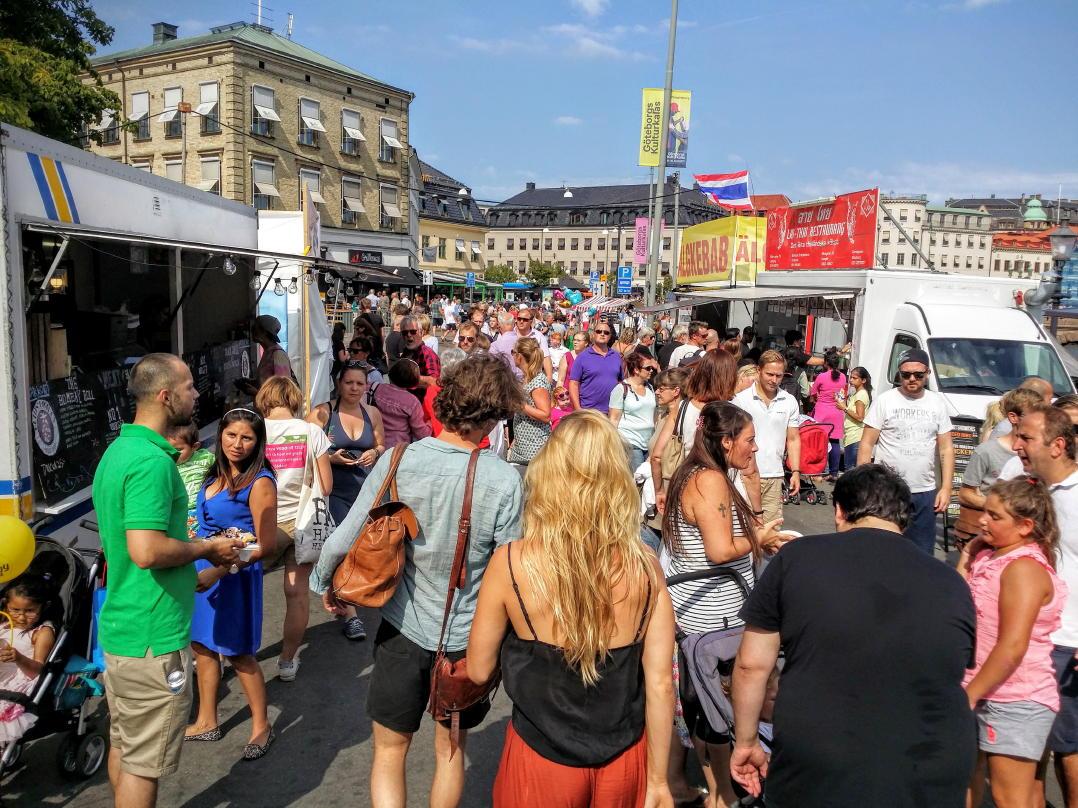 Stadtfest im August: Gothenburg Culture Festival (Göteborgs
