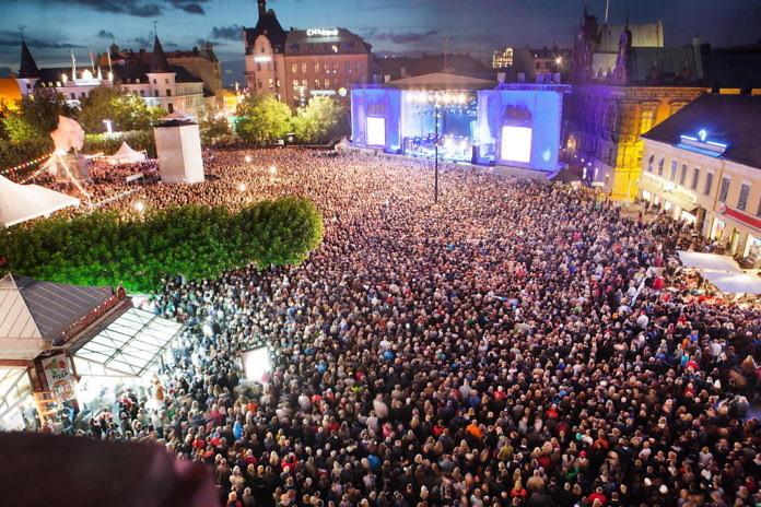 Stadtfest Mitte August: Malmöfestivalen, Nordeuropas größtes Stadtfest