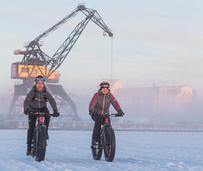 Fatbike-Touren in Luleå