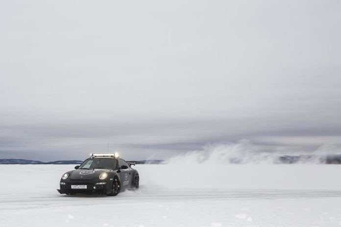 Ice Driving in Arjeplog