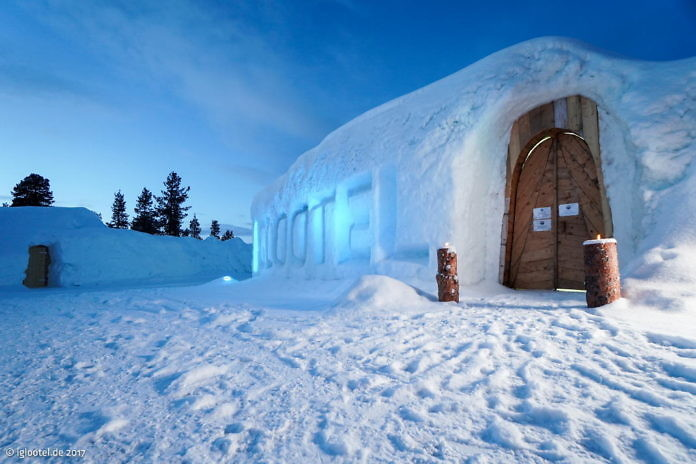 Igloo-Hotel in Arjeplog
