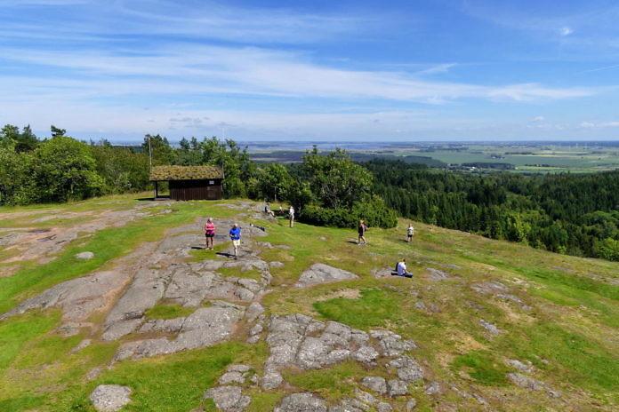 Der Omberg auf der Ostseite des Vättern - Naturschutzgebiet und Ökopark