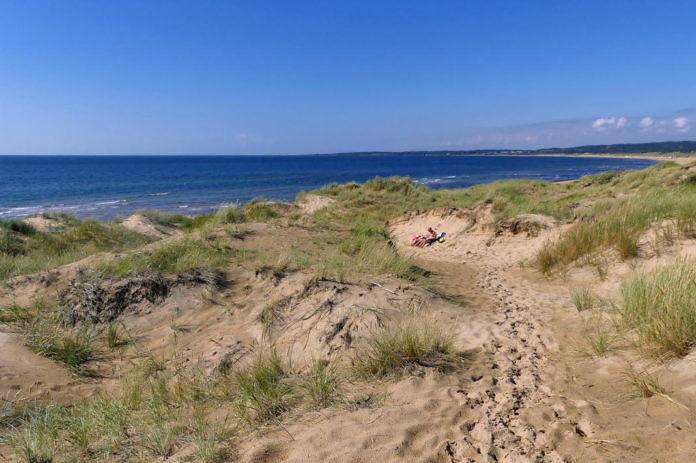 Tylösand - Sandstrand, After Beach und Per Gessles Hotel