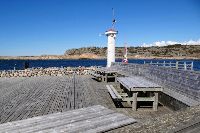 Kullavik, ein kleiner Hafenort in der Gemeinde Kungsbacka