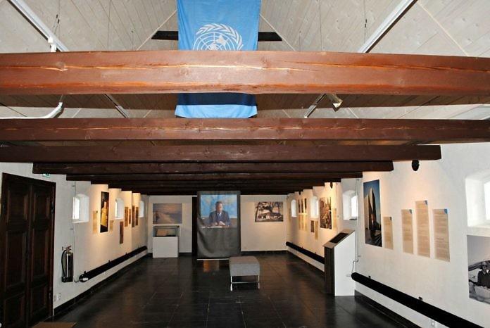 Backåkra bei Ystad: Dag Hammarskjöld Museum