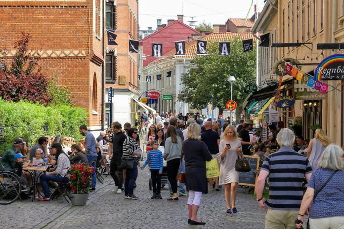 Haga, der älteste Stadtteil Göteborgs