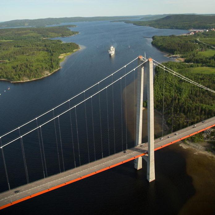 Ångermanland, die Höga-Kusten-Region
