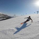 Tänndalen in Härjedalen: Frühjahrsskifahren an Christi Himmelfahrt