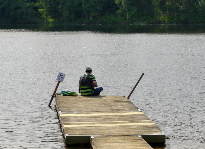 Der See Fegen, Halland