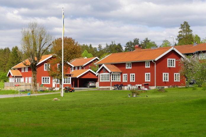 Sätila am Lygnernsee, östlich von Kungsbacka