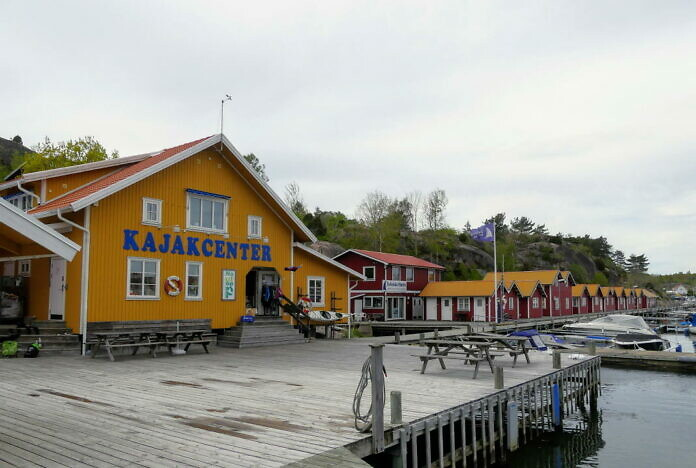 Nautopp im Hafen von Grebbestad