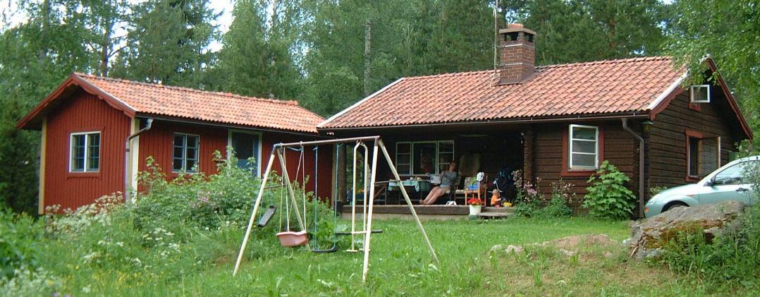Typisches Ferienhaus in Dalarna