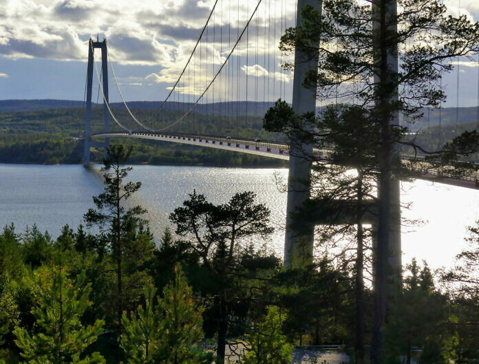 Die Höga Kusten Brücke