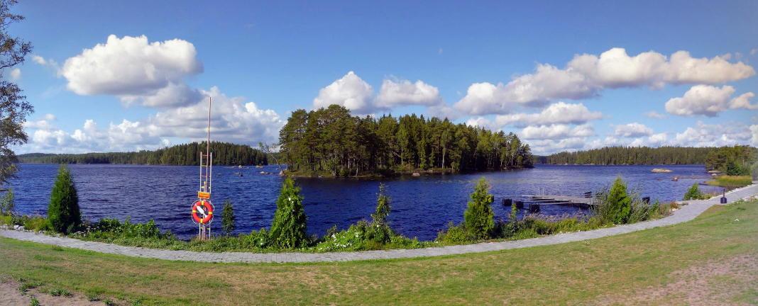 Lake Lodge südöstlich von Karlskoga, an der E18