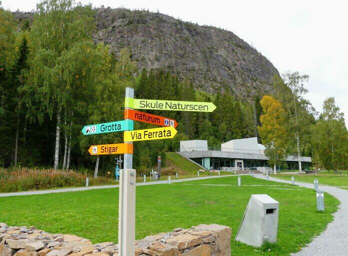 Der Skuleberg mit Naturreservat und dem Naturum Höga Kusten