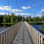 Der Indalsälven bei Timrå - Naturreservat im Mündungsdelta