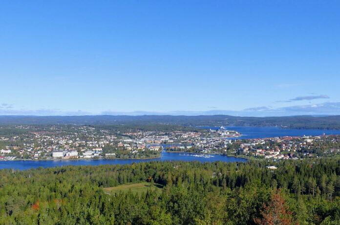 Vårdkasen, der Aussichtsberg von Härnösand