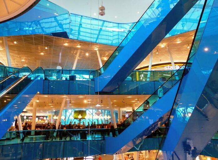 Das Emporia Einkaufszentrum im Stadtteil Hyllie