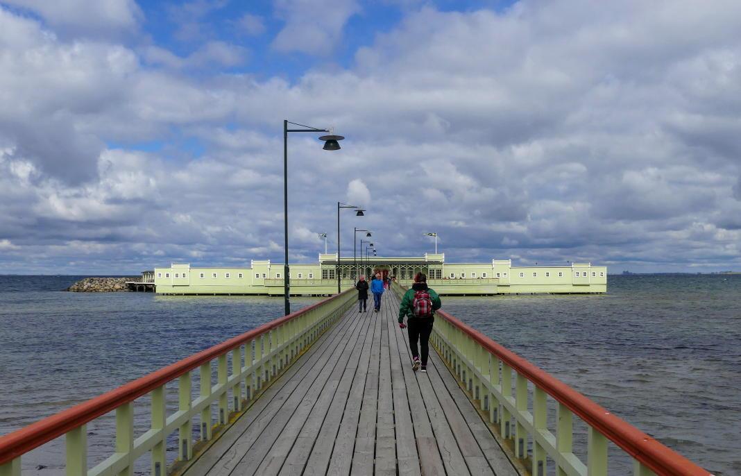 """Ribersborg am Öresund: Sandstrände und das Kaltbadehaus """"Kallis"""""""