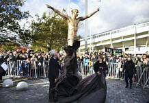 Zlatans Statue in Malmö