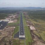 Der neue Flughafen Scandinavian Mountains Airport in Sälen