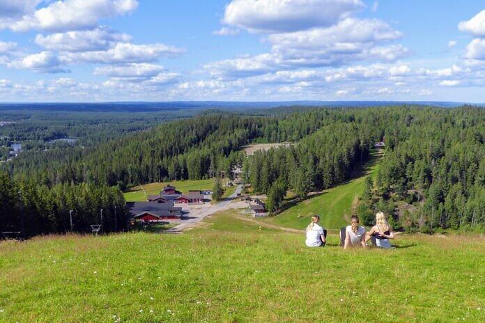 Isaberg in Småland im Sommer 2020