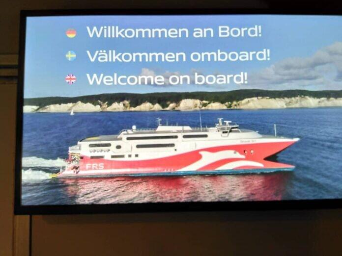 Neue Fährlinie von Sassnitz (Rügen) nach Ystad (Skåne) - Katamaran-Schnellfähre