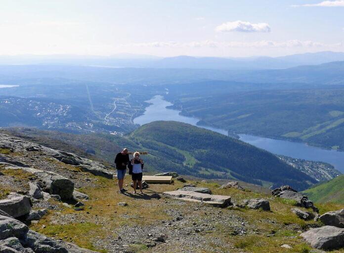 Åre - Ski alpin, Bergwandern und Mountainbiken