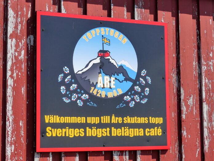 Åreskutan, der Hausberg von Åre