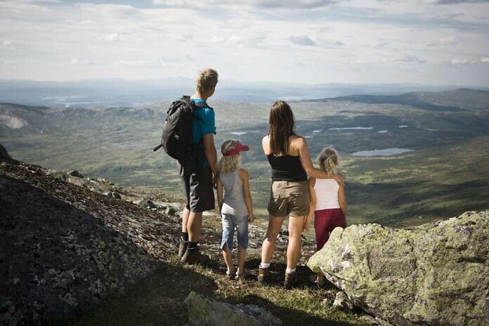 Bergwandern in Schweden