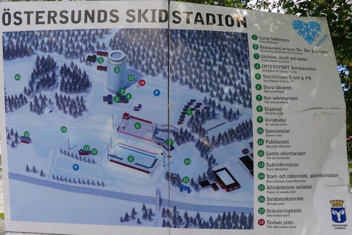Biathlon in Östersund - Die schwedische Nationalarena