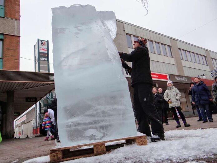 Icehotel zu Besuch in Mölndal