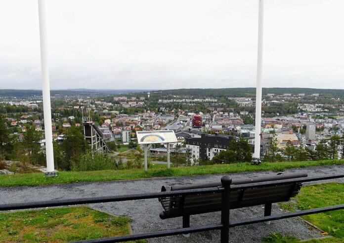 Varvsberget, Örnsköldsviks Aussichtsberg