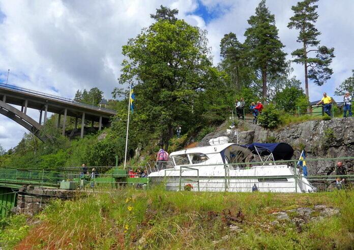 Der Aquädukt in Håverud