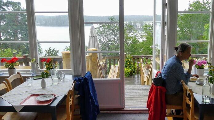 Upperud: Dalslands Kunstmuseum und das Café Bonaparte