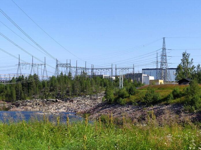 Porjus und das alte Kraftwerk