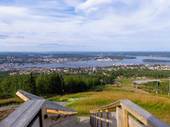 Södra Berget in Sundsvall