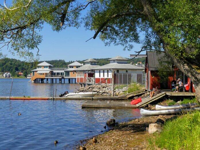 Ulricehamn am See Åsunden