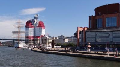 Göteborg, im Hafen